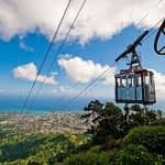 Cable car from Mt. Isabel, overlooking Puerto Plata