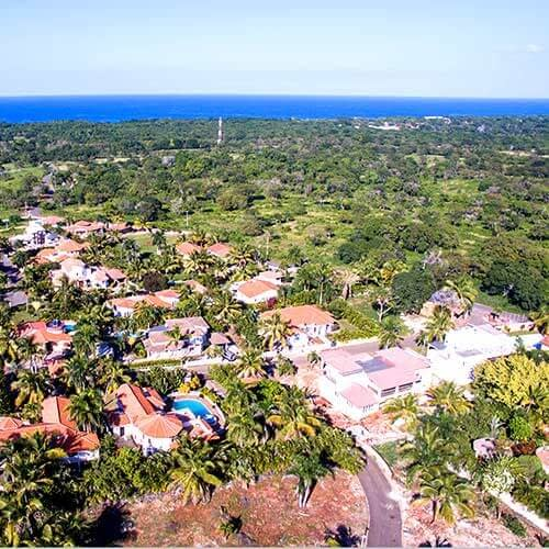 Ocean view lots for DR homes